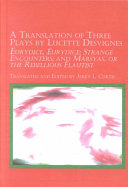 A Translation of Three Plays by Lucette Desvignes