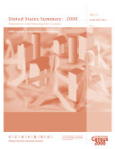 Census of population and housing  2000   United States Summary Social  Economic  and Housing Counts