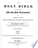 The Holy Bible Containing The Old And New Testaments With Original Notes Practical Observations And Copious Marginal References