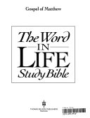 The Word In Life Study Bible