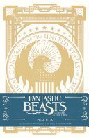 Fantastic Beasts and Where to Find them  MACUSA Hardcover Ruled Journal Book