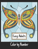 Easy Adults Color by Number