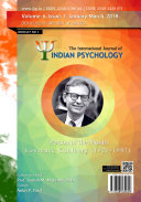 International Journal of Indian Psychology  Volume 6  Issue 1   No  1