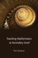 Teaching Mathematics at Secondary Level