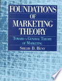 Foundations of Marketing Theory