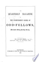 The Quarterly Magazine of the Independent Order of Odd Fellows Book