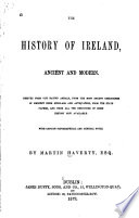 The History of Ireland  Ancient and Modern