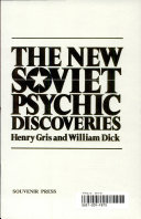 The New Soviet Psychic Discoveries
