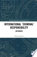 International Criminal Responsibility
