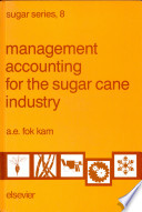 Management Accounting for the Sugar Cane Industry