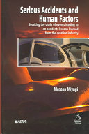 Serious Accidents and Human Factors Book