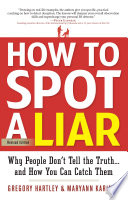 How to Spot a Liar  Revised Edition Book