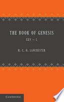 The Book Of Genesis 25 50