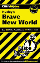 CliffsNotes on Huxley's Brave New World ebook