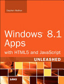 Windows 8.1 Apps with HTML5 and JavaScript Unleashed [Pdf/ePub] eBook