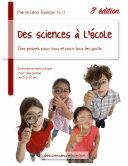 Des sciences à l'école