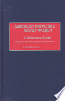 American Proverbs About Women