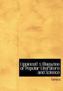 Lippincott S Magazine of Popular Literature and Science