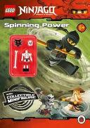 LEGO Ninjago: Spinning Power Activity Book with LEGO Minifigure