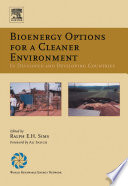 Bioenergy Options For A Cleaner Environment In Developed And Developing Countries Book PDF