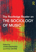 The Routledge Reader on the Sociology of Music Pdf/ePub eBook