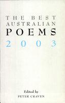 The Best Australian Poems 2003