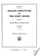 Sailing Directions for the West Indies