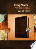 Every Man s Bible Nlt  Large Print  Deluxe Explorer Edition  Leatherlike  Rustic Brown  Indexed