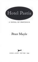 Hotel Pastis Book PDF