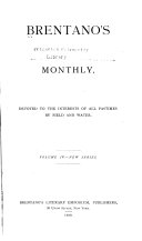 Brentano's Monthly
