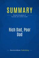 Summary: Rich Dad, Poor Dad Pdf/ePub eBook