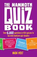 The Mammoth Quiz Book