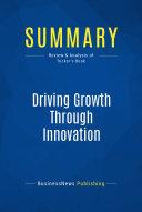 Summary  Driving Growth Through Innovation