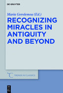 Recognizing Miracles in Antiquity and Beyond [Pdf/ePub] eBook