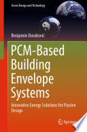 PCM Based Building Envelope Systems