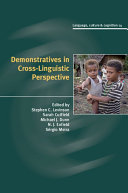 Demonstratives in Cross Linguistic Perspective