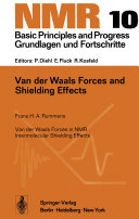 Van der Waals Forces and Shielding Effects