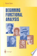 Beginning Functional Analysis