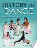 History of Dance  2E Book