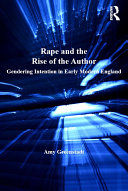 Rape and the Rise of the Author