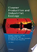 Cleaner Production and Industrial Ecology