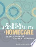 Clinical Accountability in Homecare