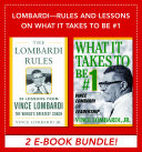 Lombardi - Rules and Lessons on What It Takes to Be #1 (EBOOK BUNDLE) Pdf/ePub eBook