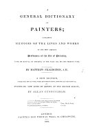 A General Dictionary of Painters     A new edition  etc  With a supplement