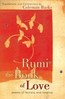 Rumi: The Book of Love