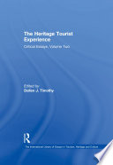 The Heritage Tourist Experience Book