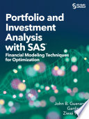 Portfolio and Investment Analysis with SAS