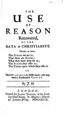 The Use of Reason Recovered