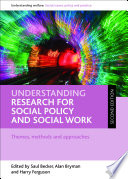 Understanding Research For Social Policy And Social Work Second Edition