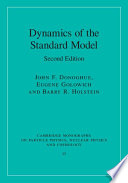 Dynamics of the Standard Model Book